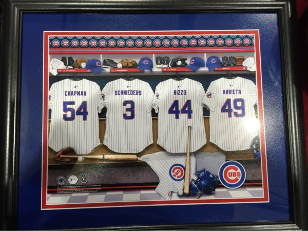 Cubs Pic Locker Room