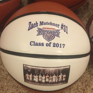 custom made personalized basketballs