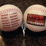 Double Side Softball Pink Lace
