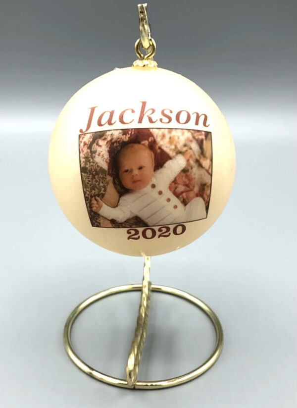 first baby's Christmas ornament