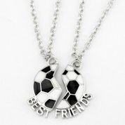 Soccer Best Friends Necklace